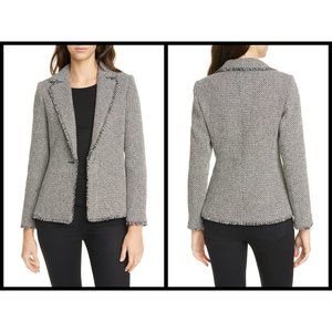 💕TED BAKER💕 Eloisia Bouclé Tweed Blazer Jacket
